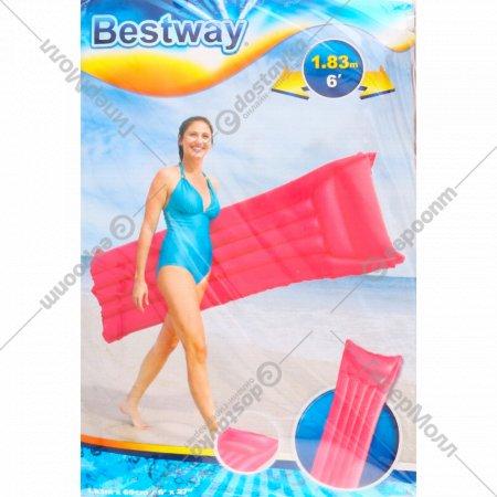 Матрас надувной «Bestway» Матовый, 44007, розовый, 183х69 см