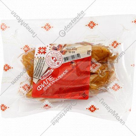 Филе цыпленка-бройлера «Оригинальное» копчено-вареное, 1 кг., фасовка 0.33-0.63 кг