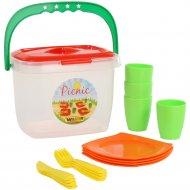 Набор детской посуды «Алиса» для пикника №1.