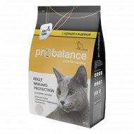 Корм для кошек «ProBalance» курица и индейка, 400 г.