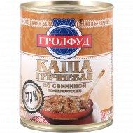 Каша гречневая со свининой по-белорусски, 340 г.