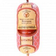 Ветчина вареная рубленая «Балерон куриный» 1 сорт., фасовка 0.3-0.4 кг
