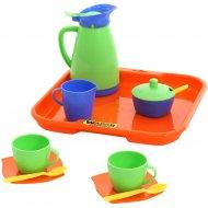 Набор детской посуды «Алиса» с подносом на 2 персоны.