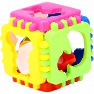 Логический куб «Веселые зверята».