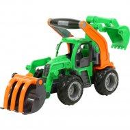 Трактор-погрузчик «ГрипТрак» с ковшом.