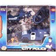Игровой набор «Maya Toys» полицейская служба, паркинг, 8836B