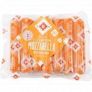 Сосиски «С сыром моцарелла» высшего сорта, 1 кг., фасовка 0.5-0.6 кг