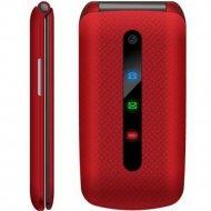 Мобильный телефон «Texet» TM-414, красный.