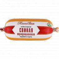 Колбаса вареная «Свиная Традиционная» первого сорта, 400 г.