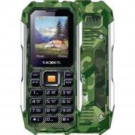 Мобильный телефон «Texet» TM-518R, зелёный.