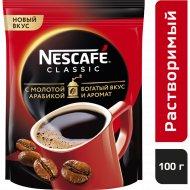 Кофе растворимый «Nescafe classic» с добавлением молотого, 100 г.