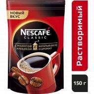 Кофе растворимый «Nescafe classic» с добавлением молотого, 150 г.
