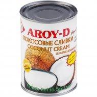 Кокосовые сливки «AROY-D» 85%, 560 мл.