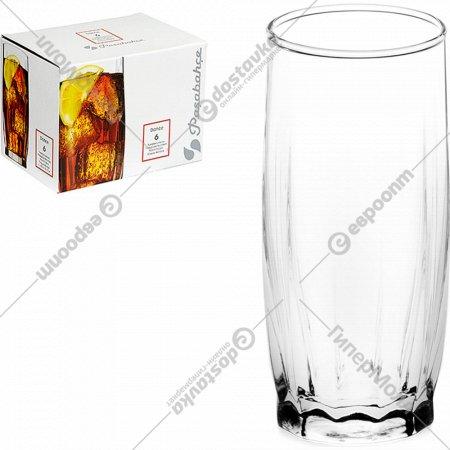 Комплект из 6-ти стаканов «Денс» для напитков, 320 мл.