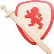Игра деревянная «Щит и меч».