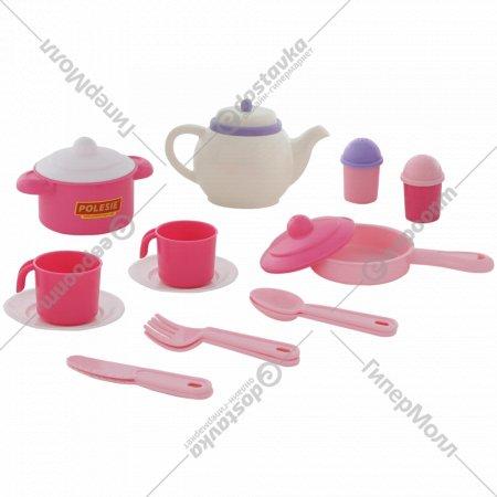 Набор детской посуды «Настенька» на 2 персоны, 18 элементов.