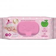 Влажные салфетки «Smile Baby» для новорожденных, 72 шт.