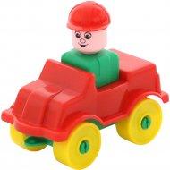 Конструктор «Юный путешественник» автомобиль легковой, 9 элементов.