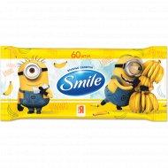 Влажные салфетки «Smile» Minions, 60 шт.
