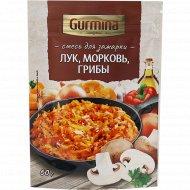 Смесь для зажарки «Gurmina» лук, морковь и грибы, 60 г.