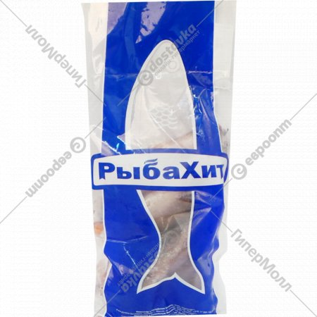 Хек «РыбаХит» тушка свежемороженая без головы 1 кг., фасовка 1.1-1.5 кг