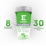 Напиток кисломолочный «Exponenta» High-Pro, манго-жасмин, 250 г
