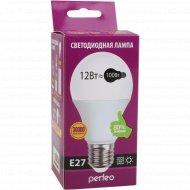 Светодиодная лампа «Perfeo» PF-A60 12W 3000K E27.