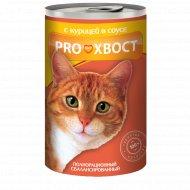 Корм для кошек «PROхвост» консерва с курицей, 415 г