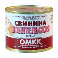 Консервы мясные «Свинина любительская вкусная» 525 г