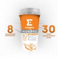 Напиток кисломолочный «Exponenta High-Pro» персик-морковь, 250 г.