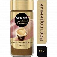 Кофе натуральный растворимый «Nescafe» Gold Crema, 95 г.