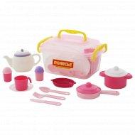 Набор детской посуды «Настенька» на 6 персон, 39 элементов.