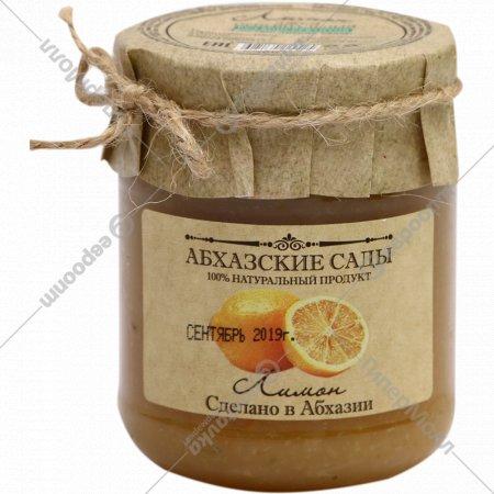Джем оригинальный «Абхазские сады» лимон, 300 г.