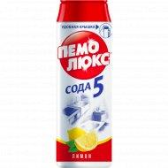 Чистящий порошок «Пемолюкс» Сода-5. Лимон, 480 г