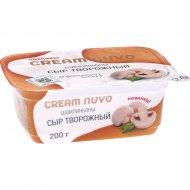 Сыр творожный «Cream Nuvo» шампиньоны, 65%, 200 г