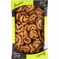 Печенье «Bambini» Ушки воздушные с корицей, 500 г
