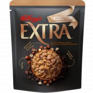Гранола-мюсли «Kellog Extra» c темным шоколадом и фундуком, 300 г.