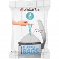 Пакеты для мусора «Brabantia» PerfectFit O, 124846, 30 л, 40 шт