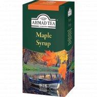 Чай зеленый «Ahmad» Кленовый Сироп, 25х1.5 г.