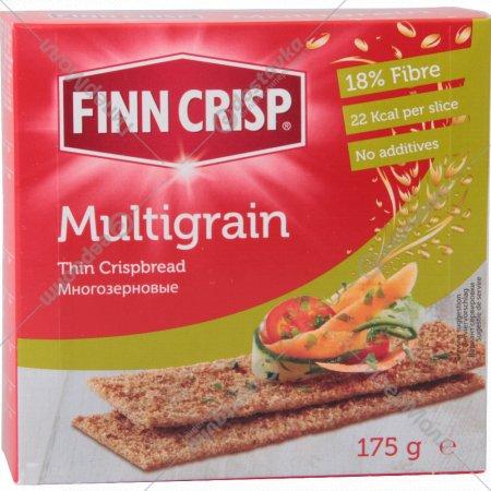 Сухарики «Finn Crisp» многозерновые 175 г.