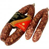 Колбаса сыровяленая «Дедушкино угощение» салями, 1 кг., фасовка 0.45-0.55 кг