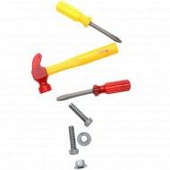 Набор инструментов «Пингвиненок Пороро» пакет с хедером, 7 штук.