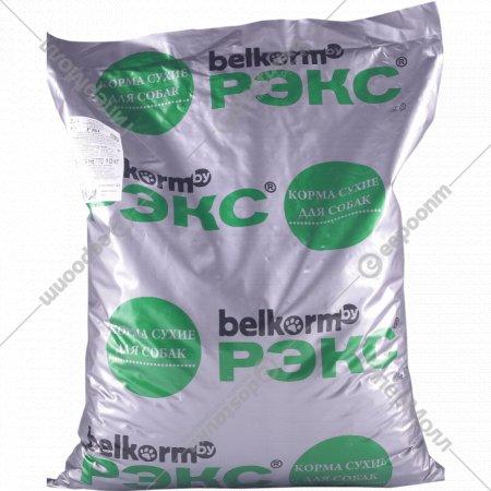 Корм для собак «Рэкс» крупных и средних пород, 10 кг.