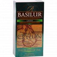 Чай зеленый «Basilur» 25 пакетиков.