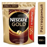 Кофе растворимый «Nescafe» Gold, с добавлением молотого, 350 г.