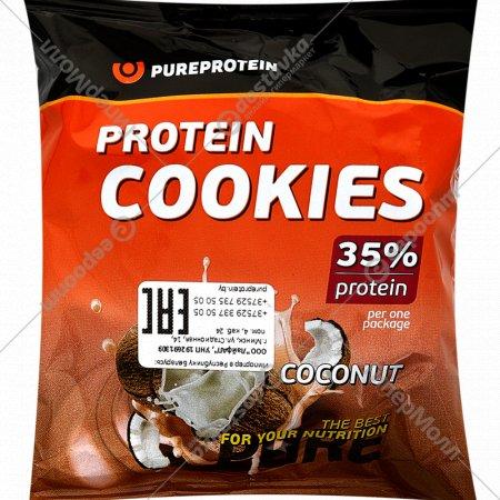 Печенье с высоким содержание белка «Protein Cookies» кокос, 80 г.
