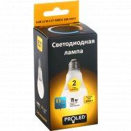Лампа светодиодная «Proled» A60-11W 3000K E27.