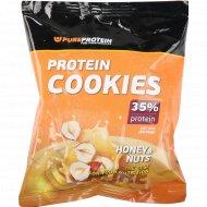 Печенье «Protein Cookies» мёд и орехи, 80 г.