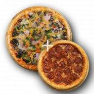 Комбо «Пицца Классическая» 1/450 + Пицца «Пепперони» 1/300 .