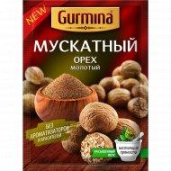 Мускатный орех «Gurmina» молотый, 20 г.